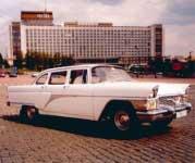 Чайка ГАЗ-13 белый на свадьбу